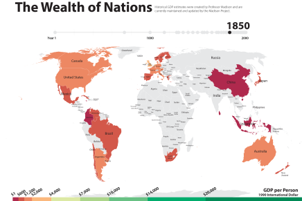 Great Britain in 1850: How rich was it?
