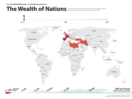 Rome and Near East in the Year 0, Wealth and Economy