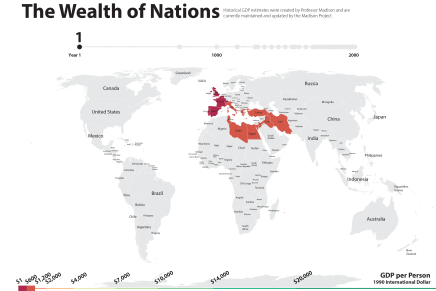 Rome and Near East in the Year 0, Wealth andEconomy