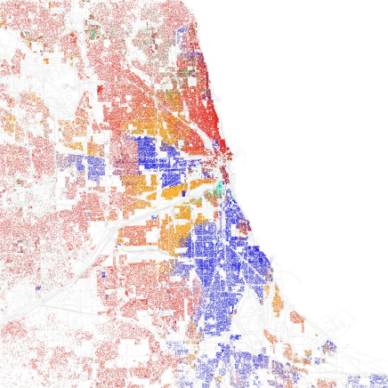 Knowing your place: Segregation in US cities.