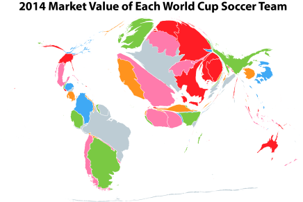 How much are World Cup teams worth?